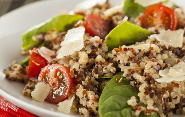 Tomato Quinoa Salad with Radishes