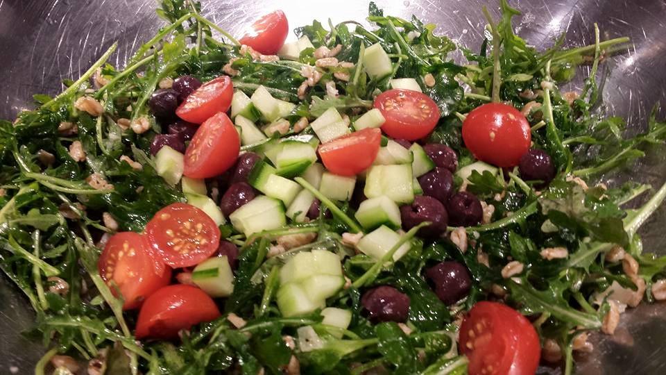 farro arugula salad