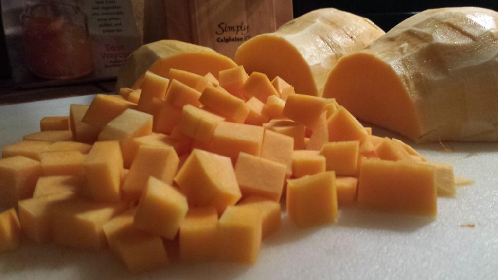 Butternut squash chopped (1)
