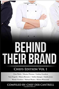 Chef Sandra co-authors Behind Their Brand